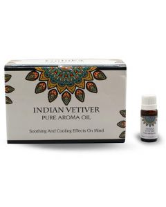 Goloka Indian Vetiver Aroma Oil Pack