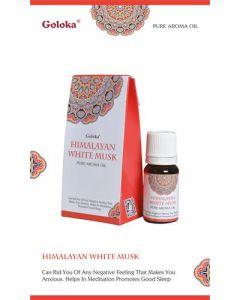 Goloka fragrance oil Himalayan White Musk 10ml