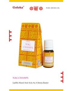Goloka fragrance oil Goloka Nag Champa 10ml