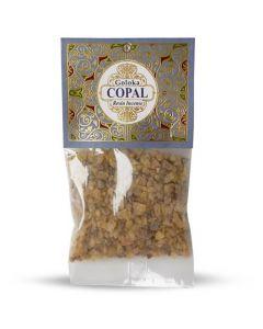 Goloka Resin Incense Copal - 30 grams 12 packs
