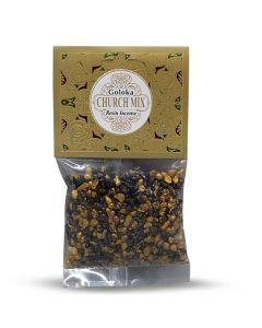 Goloka Resin Incense Church Mix - 30 grams 12 packs
