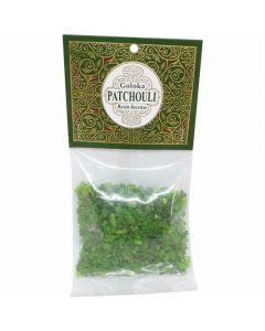 Goloka Resin Incense Patchouli - 30 grams 12 packs