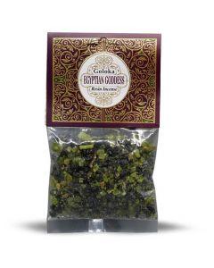 Goloka Resin Incense Egyptian Goddess - 30 grams 12 packs