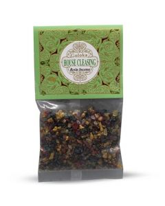 Goloka Resin Incense House Cleasing- 30 grams 12 packs