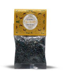 Goloka Resin Incense Nag Champa - 30 grams 12 packs