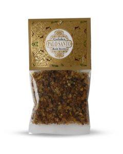 Goloka Resin Incense Palo Santo  - 30 grams 12 packs