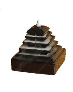 Back Flow Burner Stand Pyramid