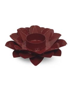 LOTUS CANDLE HOLDER RED ROOT CHAKRA