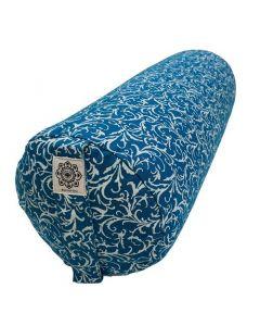 Yoga Bolster Full Print - Turquoise
