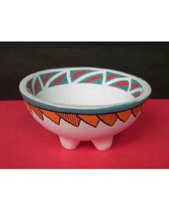 Native Soul Tribal Smudge bowl with legs