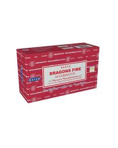 Satya Dragons Fire Incense 15 grams
