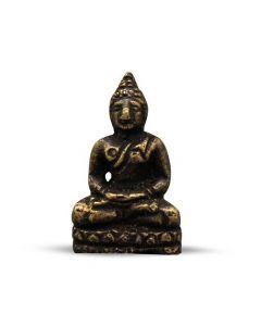 Mini Messing Boeddha 2,5 cm (12 stuks)
