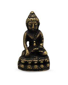 Mini Messing Boeddha 3,5 cm (12 stuks)