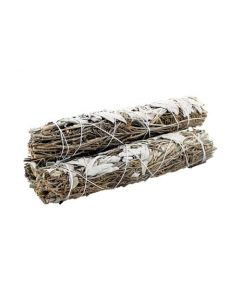 White Sage & Lavender Smudge 22 cms (price per pc)