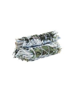 White Sage & Peppermint Smudge Stick 10cm (price per pc)