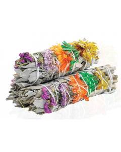 Good Vibes White Sage Smudge Stick 10cm (price per pc)