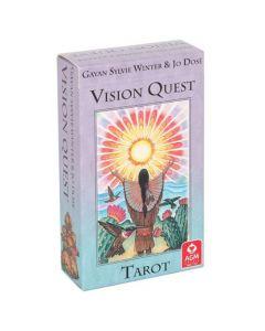 Cartas Del Tarot De Vision Quest - La Sabiduría De Los Nativos Americanos