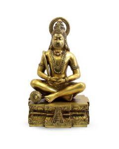 "Hanuman Sitting W/ Ring 15"""