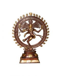 Natraj Dancing Double Ring