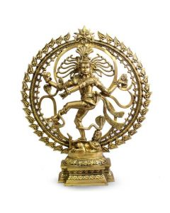 Natraj Dancing Tripple Ring & Om 25""