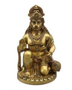 "Hanuman Sitting B/Hand Rd. Base 9.5"""