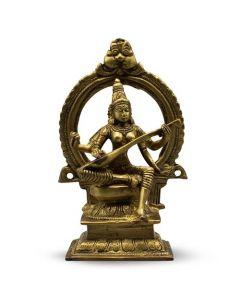 "Saraswati Sitting Fine 7"""