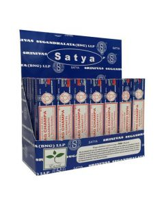 Satya Nag Champa assorted Display Pack  (42 x 15 grams)